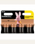 Батарейка Duracell Basic AA (LR06) алкалиновая