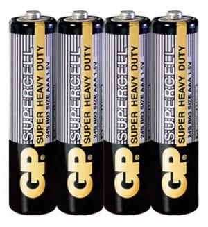 Батарейка R03 GP Supercell 24S OS4