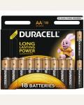 Батарейка LR06 DURACELL BASIC LR06 18BL