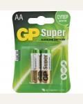 Батарейка GP Super AA (LR06) 15A алкалиновая, BC2 GP
