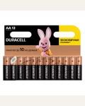 Батарейка Duracell Basic AA (LR06) алкалиновая, 12BL