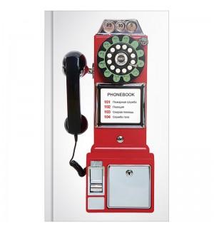 Телефонная книга А5, 80л., 7БЦ, OfficeSpace