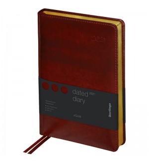Ежедневник датированный 2021г., А5, 184л., кожзам, Berlingo
