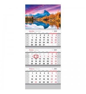 Календарь квартальный 3 бл. на 3 гр. OfficeSpace Standard