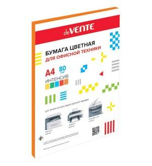 Бумага цветная для офисной техники интенсив А4, 80г/м, 50л, оранжевая
