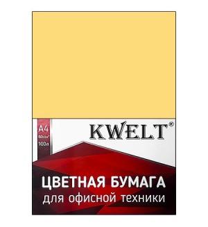 Бумага пастель А4 80г/м2 100л желтый