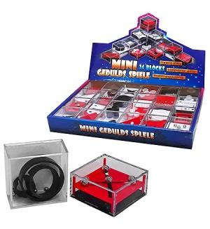 Головоломка 3D Mini- gedulds- spiele балансировочная со стальными шариками