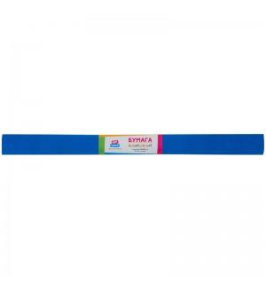Бумага крепированная ArtSpace, 50*200см, 30г/м2, синяя, в рулоне