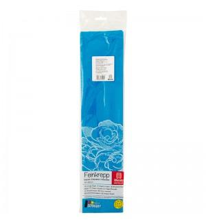 Бумага крепированная Werola, 50*250см, 32г/м2, растяжение 55%, бирюзовая, в индивидуальной упаковке