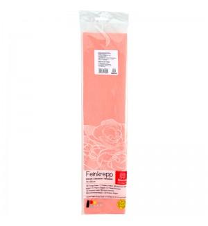 Бумага крепированная Werola, 50*250см, 32г/м2, растяжение 55%, персиковая, в индивидуальной упаковке