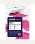 Бумага цветная OfficeSpace neon А4, 80г/м2, 50л. (малиновый)