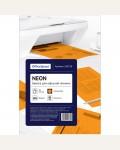 Бумага цветная OfficeSpace neon А4, 80г/м2, 50л. (оранжевый)