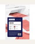 Бумага цветная OfficeSpace neon А4, 80г/м2, 50л. (розовый)