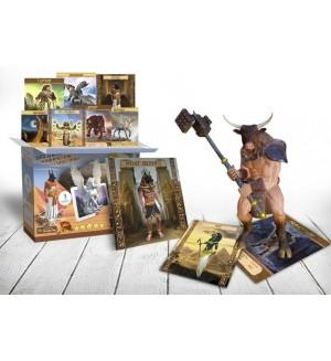 Мифические существа и Боги Египта. Набор карточек 4D