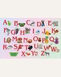 Настольное покрытие Английский Алфавит 580х375мм