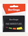 Флажки-закладки Berlingo 45*25мм, 20л+45*12, 20л*3 неоновых цвета, европодвес