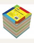 Блок для записи на склейке 9*9*9 см, цветной, 1000 л.
