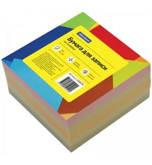Блок для записи на склейке 9*9*5 см, цветной, 500 л.