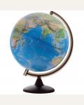 Глобус ландшафтный рельефный Глобусный мир, 32см, на круглой подставке