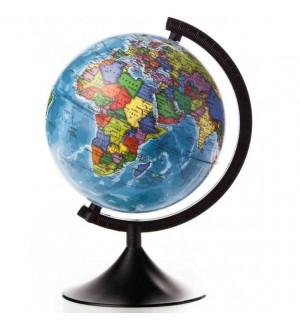 Глобус Земли политический рельефный