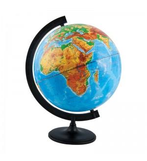 Глобус физический 32см с подсветкой