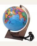 Глобус политический 21см с подсветкой
