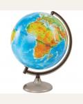 Глобус физико-политический 32см с подсветкой на круглой подставке