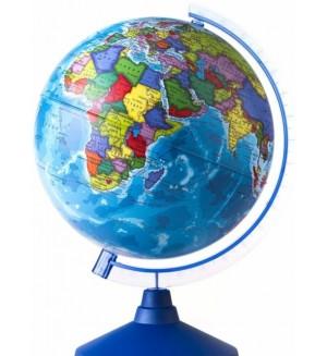 Глобус Земли, политический, 250 мм