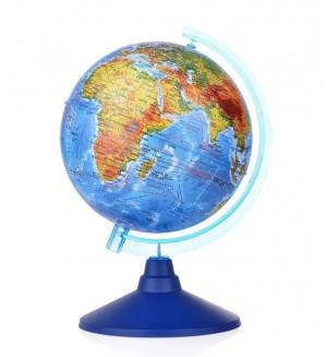 Глобус Земли физический, 150 мм, Классик Евро
