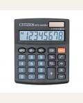 Калькулятор настольный SDC-805BN 8 разрядов, двойное питание, 102*124*25 мм, черный