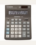 Калькулятор настольный Correct D 16 разрядов, двойное питание, 155*205*28 мм, черный