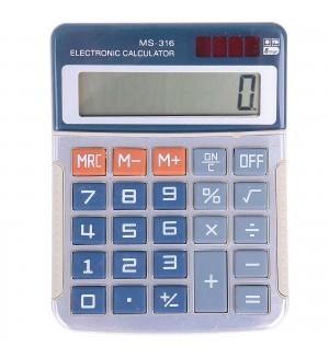 Калькулятор настольный 08-разрядный Kenko MS-316 13,2*10*2,4см в индивидуальной упаковке