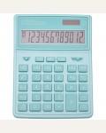 Калькулятор настольный Citizen SDC-444XRGNE, 12 разрядов, двойное питание, 155*204*33мм, бирюзовый