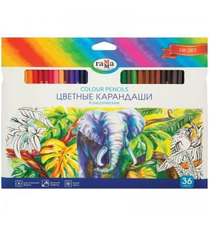 Карандаши цветные Гамма