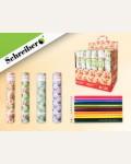 Набор цветных карандашей, 12 цветов, в картонной тубе