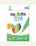 Карандаши пластиковые Carioca