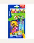 Карандаши цветные пластиковые Berlingo