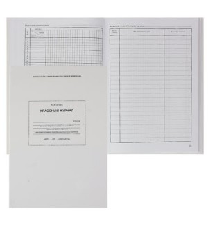 Классный журнал 10-11 класс, А4, глянцевое ламинирование