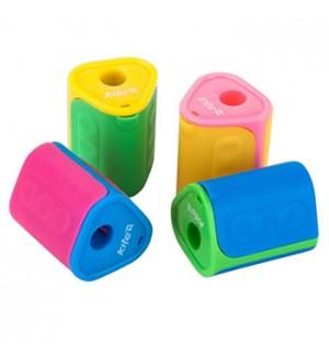 Точилка пластиковая 1 отв. контейнер