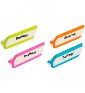 Ластик Berlingo треугольный, скошенный, термопластичная резина, 57*16*16мм