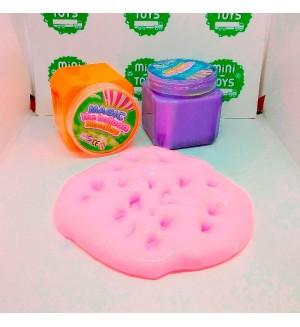 Слайм Fluffy baloon Noodles в квадратной банке