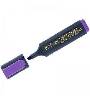 Текстовыделитель фиолетовый, 1-5мм