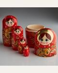 "Матрешка "" Жар птица"" 5 кукольная"