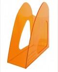 Лоток вертикальный, оранжевый тонированный 235*90*240