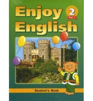 Биболетова М. Enjoy English-2. Английский с удовольствием. Учебник. 3-4 класс. ФГОС