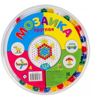 Мозаика круглая 110 эл.