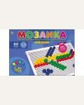 Мозаика пластиковая, 80 фишек, диаметр 13 и 20 мм