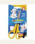 Ножницы детские для левшей 12,5 см, европодвес