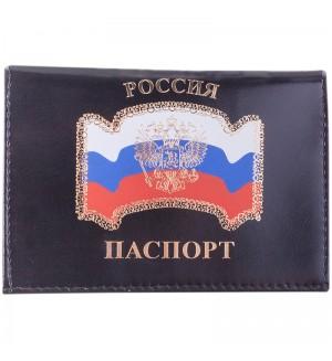 Обложка для паспорта ОfficeSpace кожа тип 2, Флаг