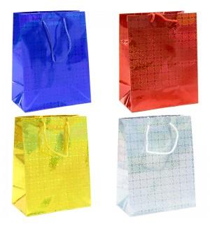 Пакет подарочный 17,8*22,9*9,8см, Veld-co, голография